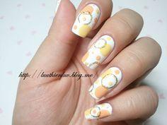 Circle Nail Art - Click on photo for tutorial