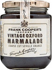Marmalade. Great on scones with a spoonful of clotted or double devon cream, perfect for afternoon tea time!!!