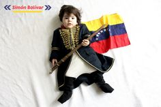 Disfraz Simon Bolivar | criandoando.com