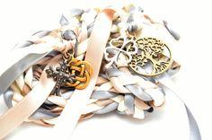 4 Charm Celtic  Wedding Hand Fasting/ Binding Cord v2 ~ Divinity Braid ~ Tree Of…
