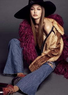 Gigi Hadid for Vogue Japan November 2017
