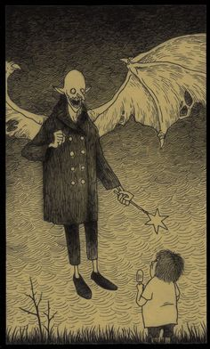 Creepy Art by John Kenn Mortensen