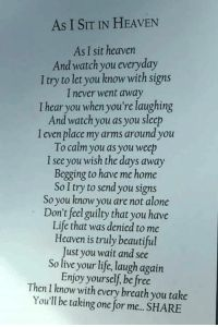 Letter From Heaven, Grief Poems, Dad Poems, Grandpa Quotes, Family Poems, Daughter Poems, Miss My Mom, Funeral Poems, Sympathy Quotes