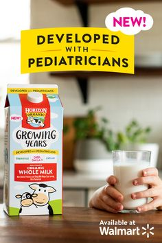 Meet Horizon® Growing Years™ organic whole milk! We partnered with pediatricians to identify key nutrients for growing kids, ages 1 to Healthy Meal Prep, Healthy Dinner Recipes, Healthy Snacks, Healthy Tips, Toddler Meals, Kids Meals, Baby Food Recipes, Cooking Recipes, Crockpot Recipes