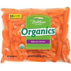 Bolthouse Farms Organic Baby-Cut Carrots, 32 oz