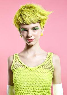 The hair design which is fruit by Munenari Maegawa, via Behance