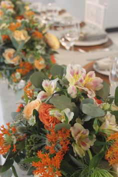 Country chic arrangement by Volària