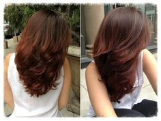 my work: warm hair colors for brunettes Hair Color And Cut, Brown Hair Colors, Medium Hair Styles, Curly Hair Styles, Great Hair, Fall Hair, Gorgeous Hair, Hair Looks, Hair Inspiration