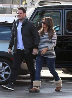 Hilary Duff Photos Photos: Pregnant Hilary Duff Gets Some Love From Her Hubby - Maternity - Things & Style.