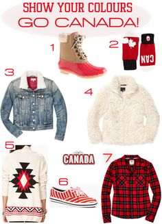 Go Canada | 2014 Olympics | red and white | Sochi 2014 Olympic Games, Olympics, Truths, Christmas Sweaters, Red And White, Style Me, Traveling, Spring Summer, Canada