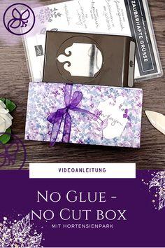 Mit Videonaleitung zu dieser tollen Box Paper Trimmer, 3d Paper, Box, Stampin Up, Crafts, Book Folding, Mother's Day, Projects, Creative