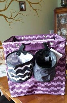 Thirty-One Gifts - 2 Oh Snap Bins make a great addition to the Square Storage Bin! http://www.mythirtyone.com/JenWillett