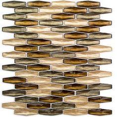 Apex Amber Lights Glass Tiles - New - Glass Collections Copper Backsplash, Glass Tile Backsplash, Glass Mosaic Tiles, Kitchen Backsplash, Wall Tiles, Mosaic Bathroom, Marble Tiles, Backsplash Ideas, Bathroom Wall