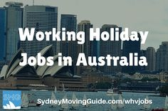 Do you have a working holiday visa in Australia? Looking for a job? Here you go. Current job listings for Working Holiday visa holders in Sydney.