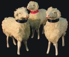 German Putz Stick leg Sheep