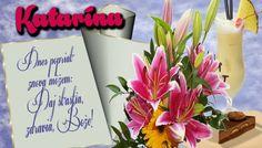 Katarína Dnes popriať znova môžem Daj šťastia, zdravia, Bože!: