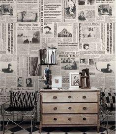 Image result for new york newspaper bathroom