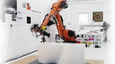 Large Scale Robotic 3D Printing