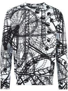 Love Moschino rollercoaster print sweatshirt.