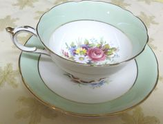 $45.00 By Appointment to H.M. Queen & H.M. Queen Mary Paragon Bone China Cup Saucer   Free Shipping  #tucsontiquescollectibles