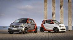 Smart fortwo and forfour 2015.