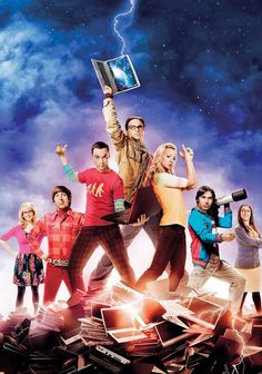 Big Bang Theory:The Poster Collection Jim Parsons, The Big Theory, Big Bang Theory Funny, Big Bang Theory Characters, Big Beng, Movies And Series, Big Bang Top, Gu Family Books, Poster Series