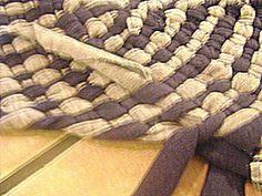 How to Make a No-Sew Rag Rug