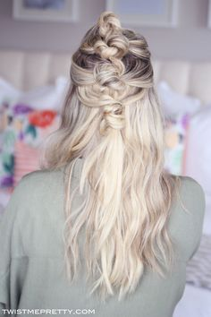 Bohemian Knotted Hairstyle