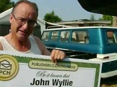 "John Wyllie of White City, OR is the very FIRST recipient of the Publishers Clearing House $5,000.00 A Week ""Forever"" prize.  Check out his winning moment!"