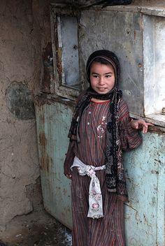 Iraqi girl, Baghdad, Iraq - the innocent always suffer the most