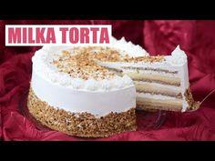 Cel mai bun tort Milka pe care toată lumea iubește să îl facă - YouTube Torte Recepti, Kolaci I Torte, Torta Recipe, Baking Recipes, Dessert Recipes, Opera Cake, Torte Cake, Quiches, Pastry Cake