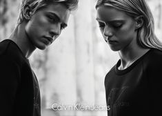 Lucky Blue and Pyper America star in Calvin Klein Jeans Black Series campaign