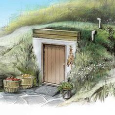 Root Cellar Plans. These unique root cellar plans show you how to build a root cellar for food storage by adapting a new concrete septic tank. From MOTHER EARTH NEWS magazine.