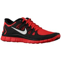 low priced 40f81 eae93 Nike Free 5.0+ - Men s - Running - Shoes - Gym Red Black Nike