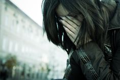 Tears Of Repentance... Acts 3:19...young woman crying