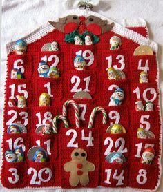 advent calendar by Tree_bridge on flickr #christmas #crochet