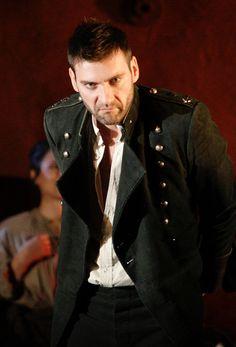 Nicolas Courjal as Zuniga in Francesca Zambello's production of Carmen, The Royal Opera 2013/14 Season
