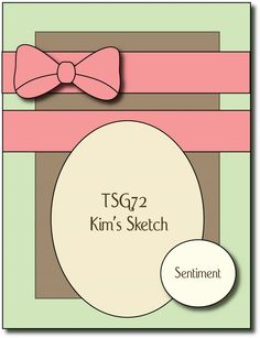There She Goes Clear Stamps: TSG72 - A Sketch for You