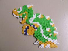 Super Mario Bros Bowser 8-bit pixel art bead sprite by MelParadise