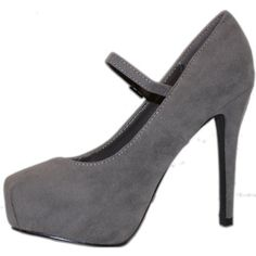 $33.05 breckelle'S Vanesa-22 Grey Velvet Mary Jane Pumps, Size: 7 (M) US [Apparel] Breckelles, http://www.amazon.com/dp/B0091LB3KK/ref=cm_sw_r_pi_dp_p72rqb12PV411