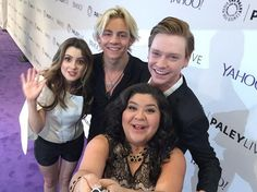 Raura was so strong yesterday and during the Interview at Paley Center and the ones before I Died