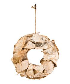 Another Great Find On Zulily Birch Bark Wreath Zulilyfinds Birch Bark Diy