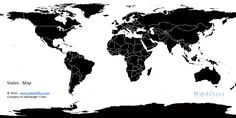 World map decal for apple macbook macbook air by decalsaffordable world map black and white for commercial use select states or region level use it for ai eps svg or excel kpi dashboards and own values gumiabroncs Choice Image