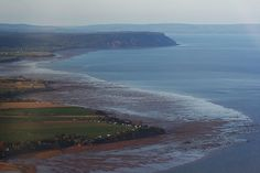 Aerial View of Annapolis Valley
