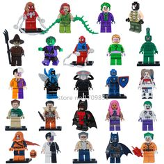 NEW Single Sale DC Marvel Super Heroes Avengers Batman Blue Beetle Building Blocks Bricks Toys Legoes Compatible for Children