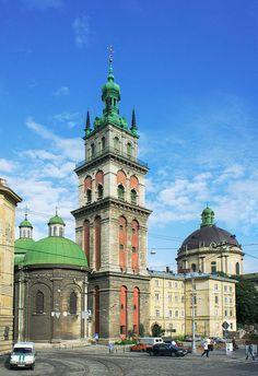 Orthodox Church of the Assumption, Lviv.