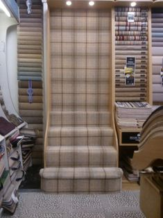 Cost Of Carpet Runners For Stairs Living Room Plan, Living Room Carpet, Hall Carpet, Diy Carpet, Carpet Ideas, Tartan Stair Carpet, Flooring Near Me, Tiny House Stairs, Cost Of Carpet
