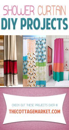 DIY Shower Curtains - The Cottage Market