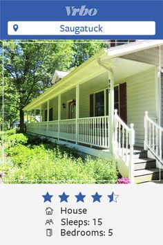 Vacation House in Saugatuck