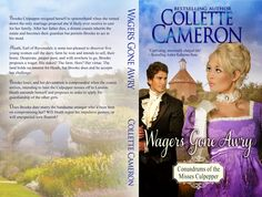 Print cover for Wagers Gone Awry (Conundrums of the Misses Culpepper, Book 1)